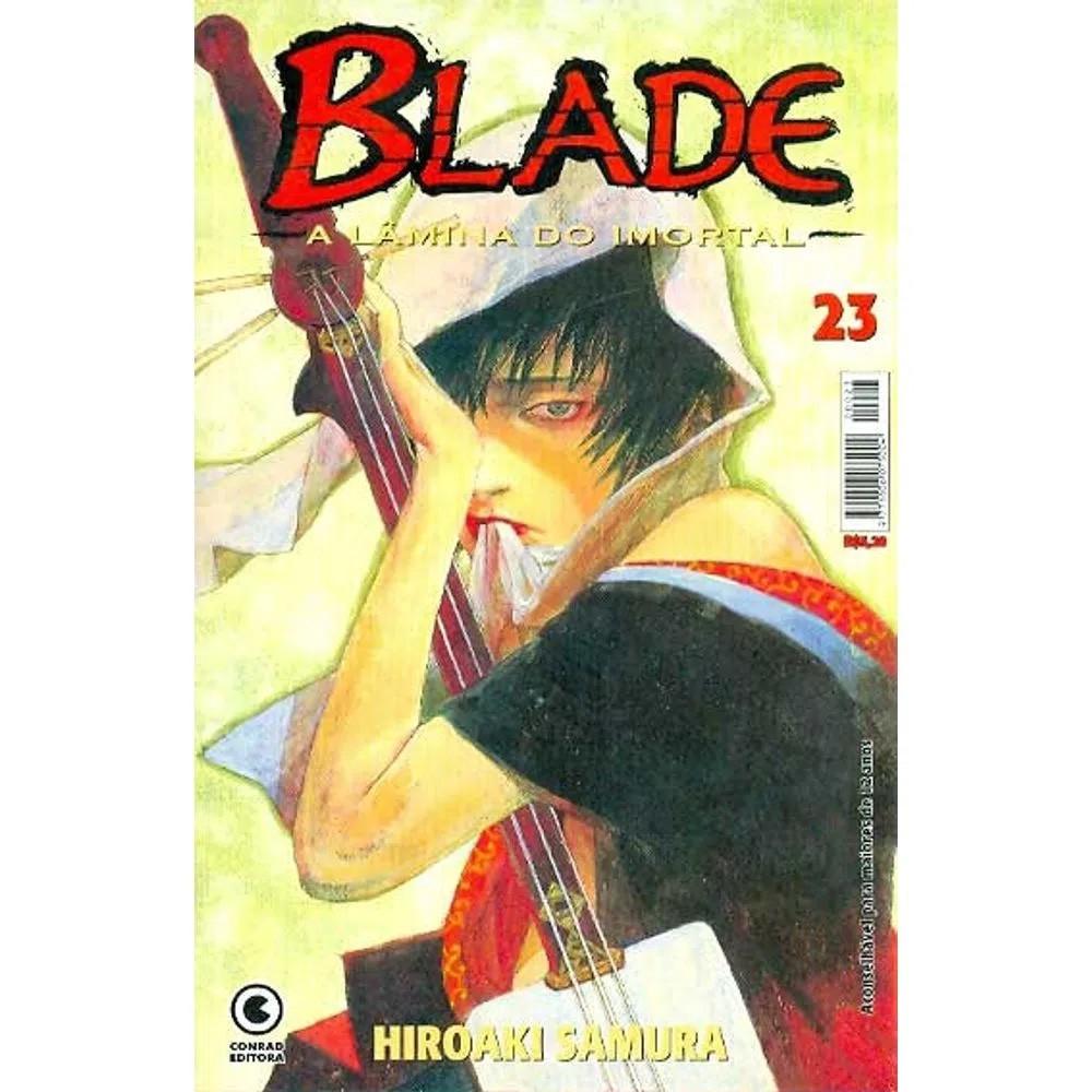 Blade A Lâmina do Imortal - 1ª Edição - Volume 23 - Usado