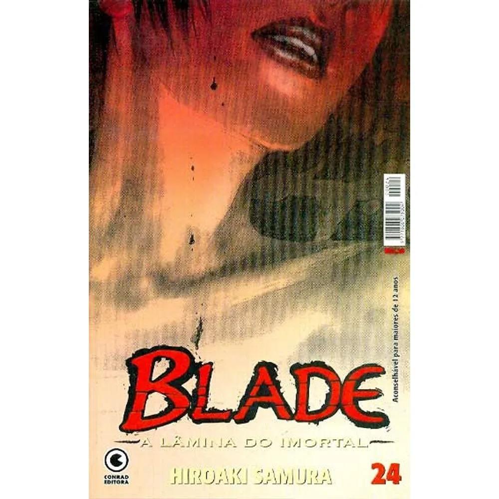 Blade A Lâmina do Imortal - 1ª Edição - Volume 24 - Usado