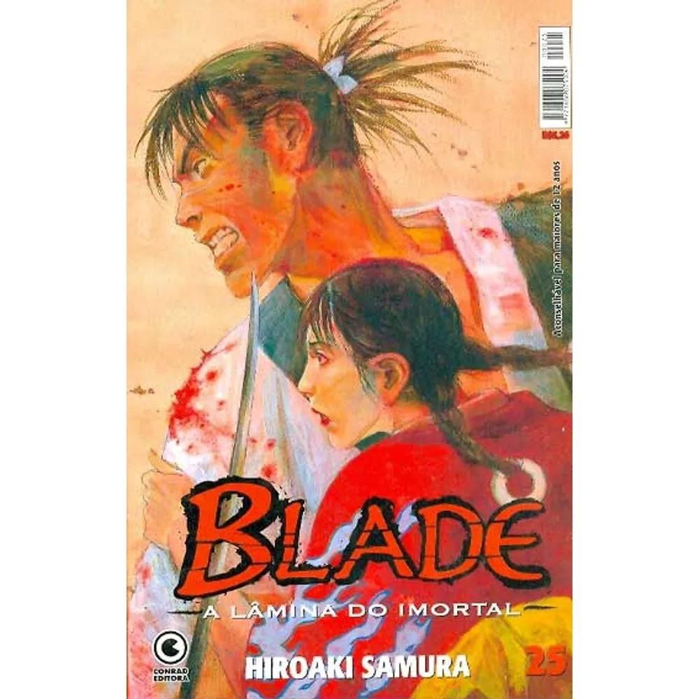 Blade A Lâmina do Imortal - 1ª Edição - Volume 25 - Usado