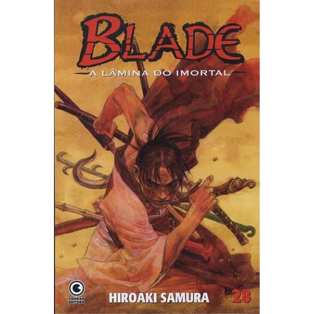 Blade A Lâmina do Imortal - 1ª Edição - Volume 28 - Usado