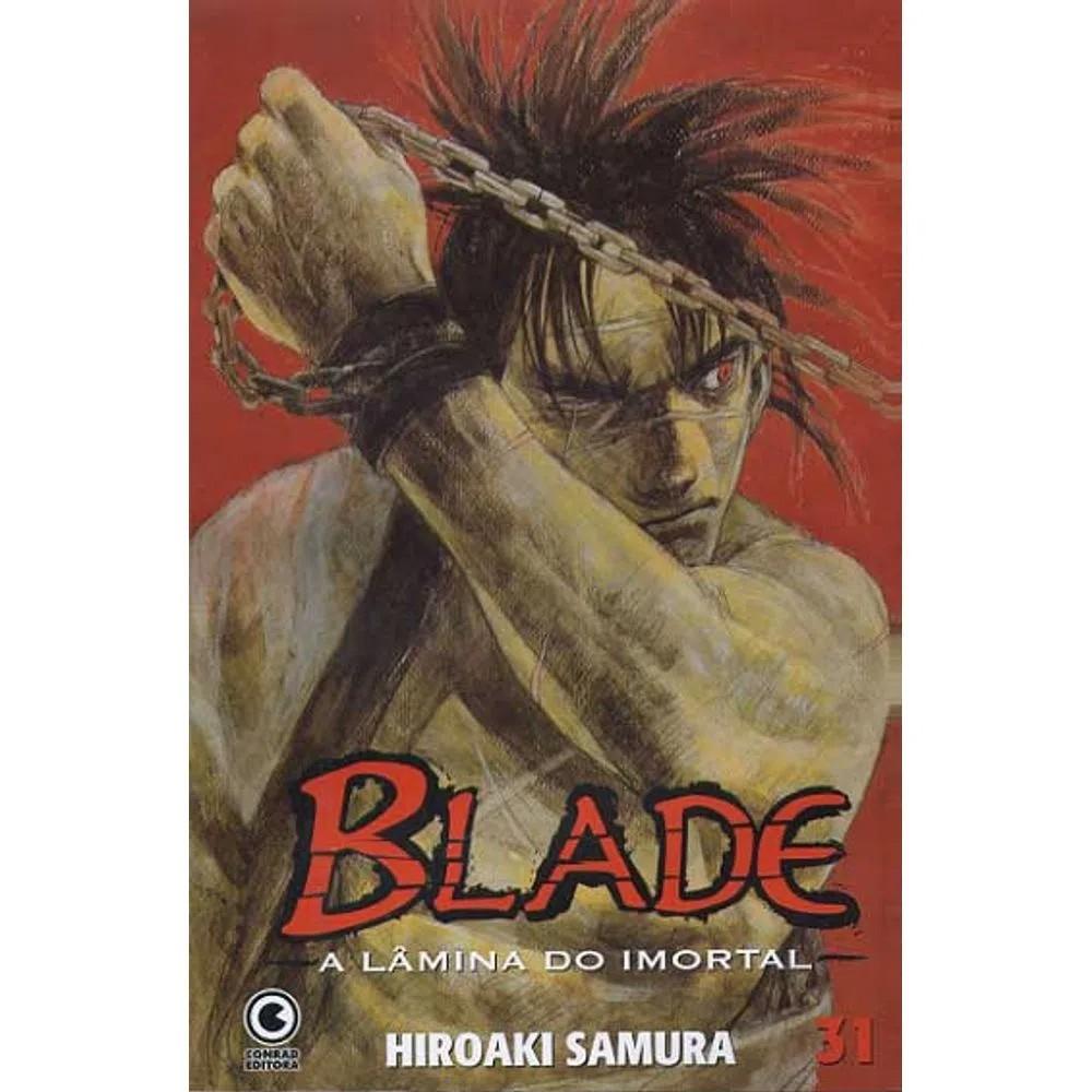 Blade A Lâmina do Imortal - 1ª Edição - Volume 31 - Usado
