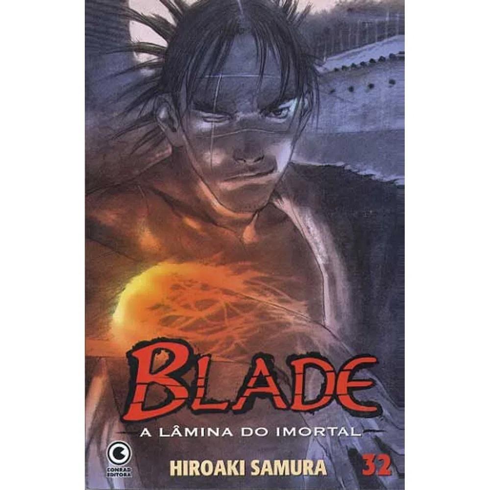 Blade A Lâmina do Imortal - 1ª Edição - Volume 32 - Usado
