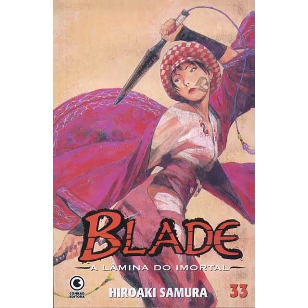 Blade A Lâmina do Imortal - 1ª Edição - Volume 33 - Usado