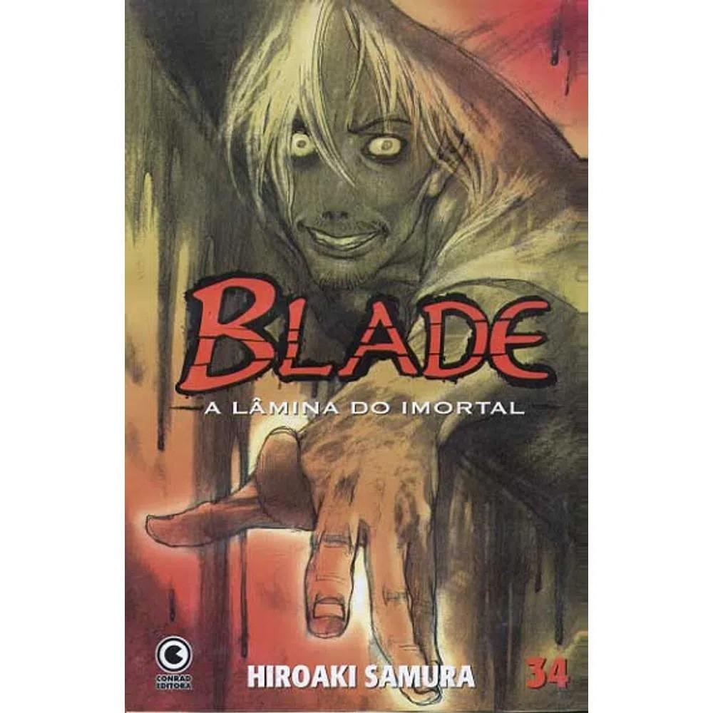 Blade A Lâmina do Imortal - 1ª Edição - Volume 34 - Usado
