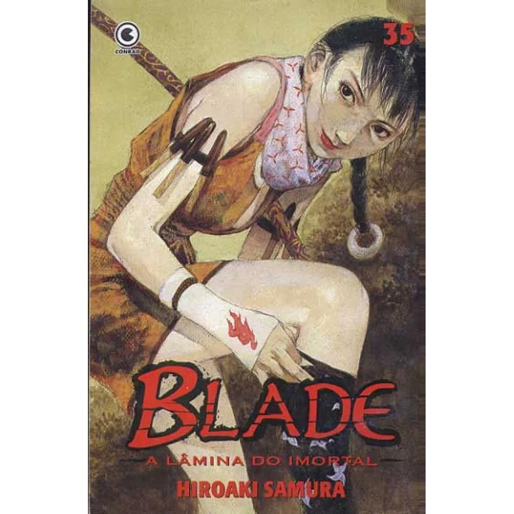 Blade A Lâmina do Imortal - 1ª Edição - Volume 35 - Usado