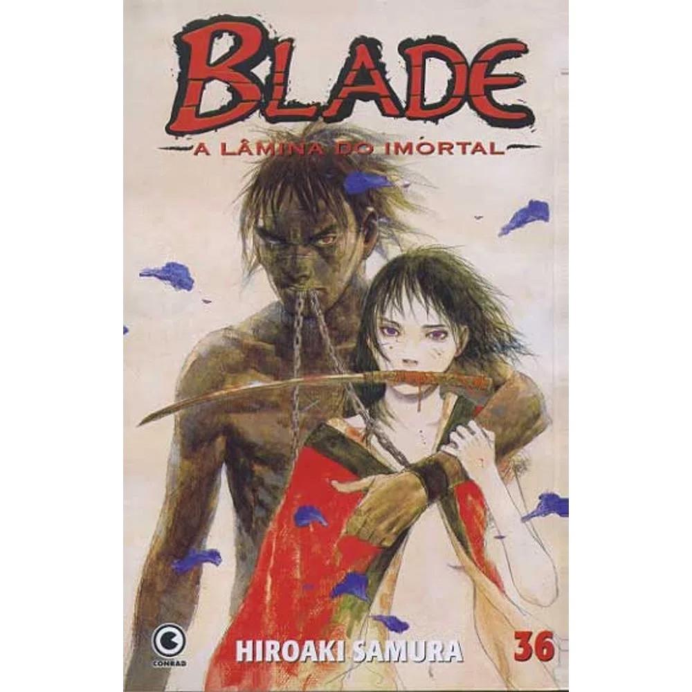 Blade A Lâmina do Imortal - 1ª Edição - Volume 36 - Usado