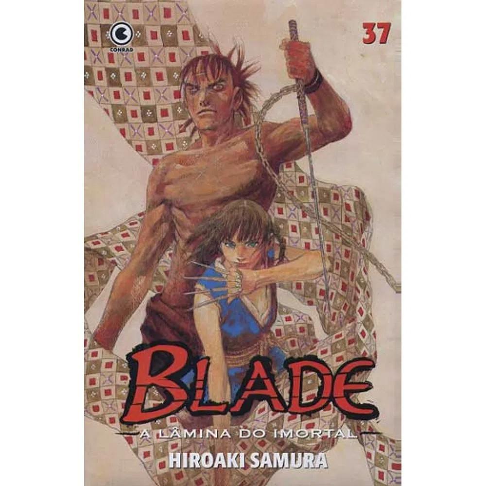Blade A Lâmina do Imortal - 1ª Edição - Volume 37 - Usado