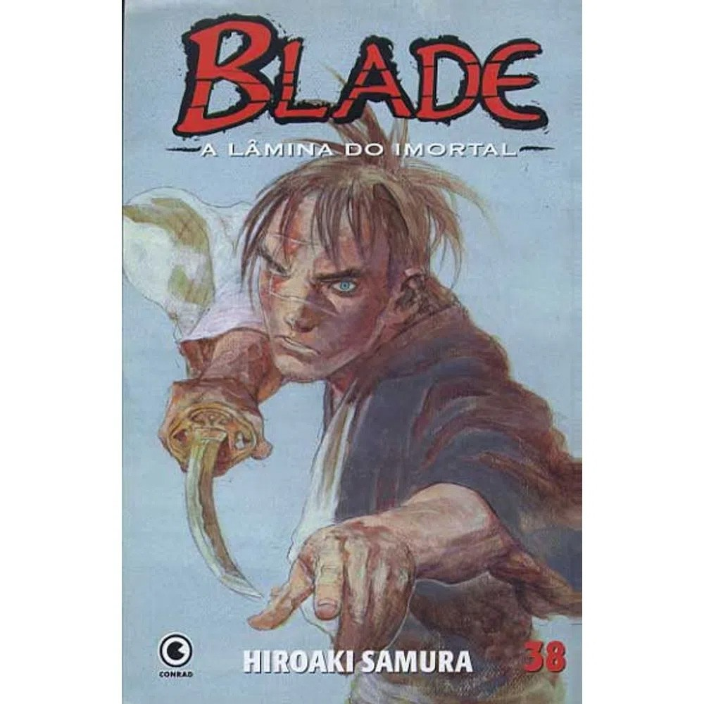 Blade A Lâmina do Imortal - 1ª Edição - Volume 38 - Usado