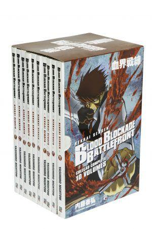 Blood Blackade Battlefront 1 ao 10 - Coleção Completa - Box