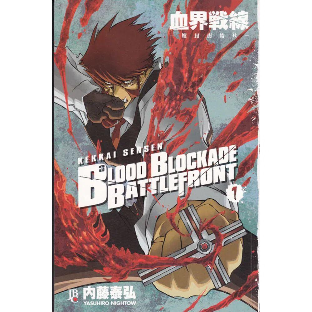 Blood Blockade Battlefront - Volume 01 - Usado