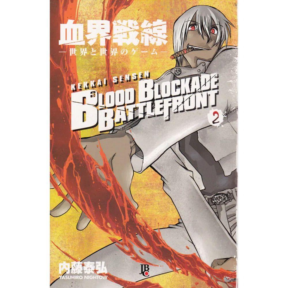 Blood Blockade Battlefront - Volume 02 - Usado