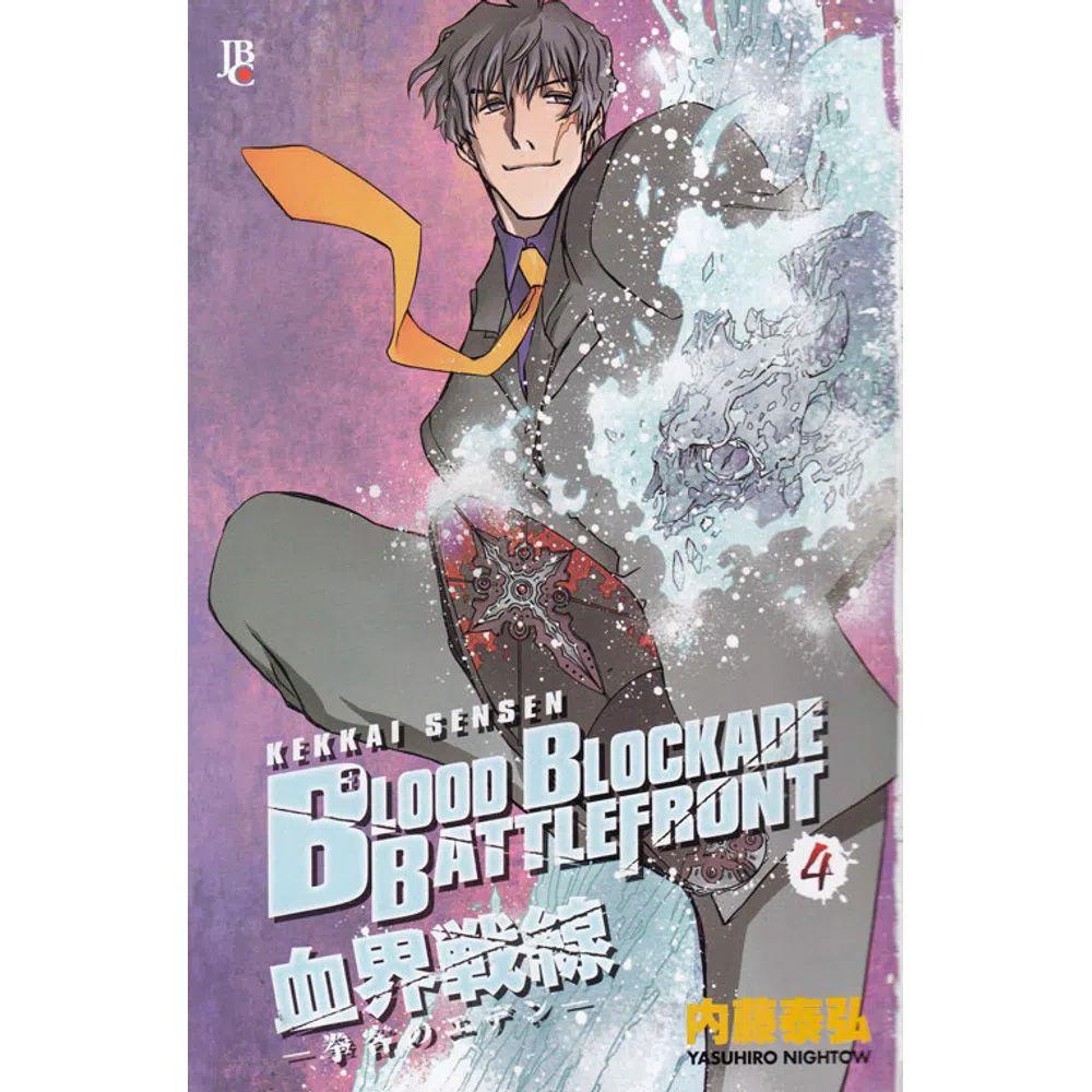 Blood Blockade Battlefront - Volume 04 - Usado