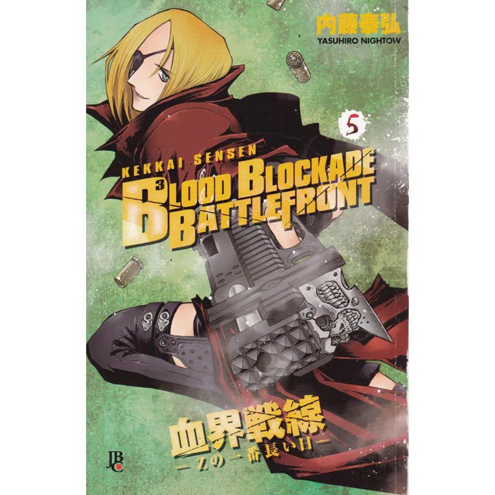 Blood Blockade Battlefront - Volume 05 - Usado