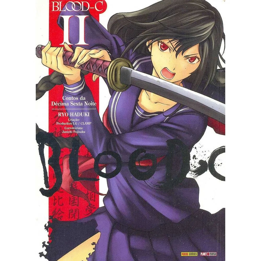 Blood-C Contos da Décima Sexta Noite - Volume 02 - Usado