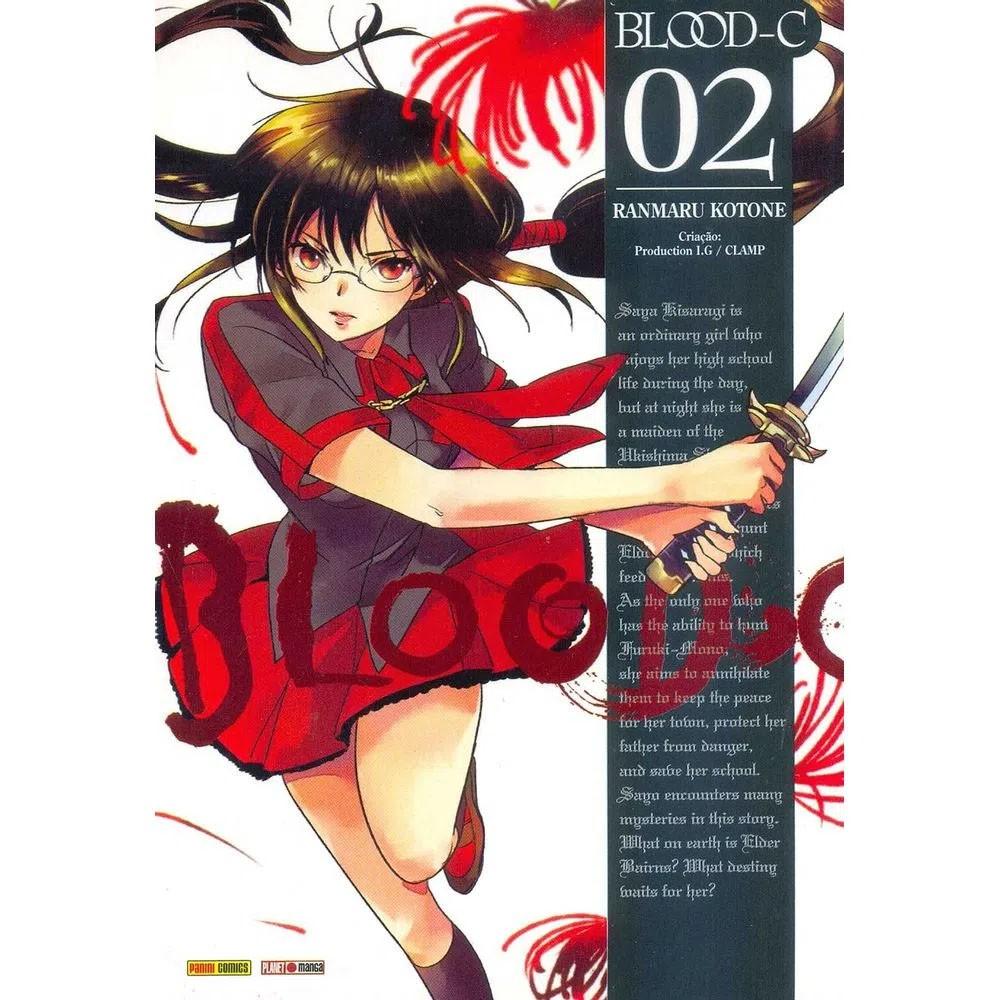 Blood-C - Volume 02 - Usado