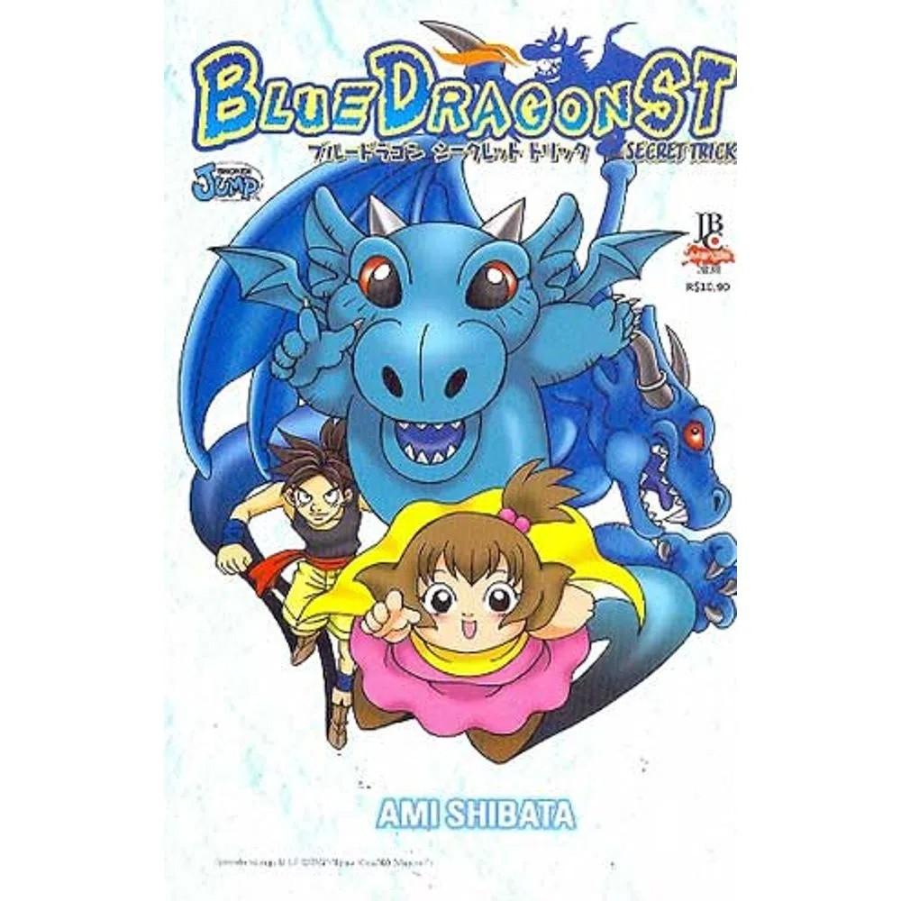 Blue Dragon Secret Trick - Volume Único - Usado