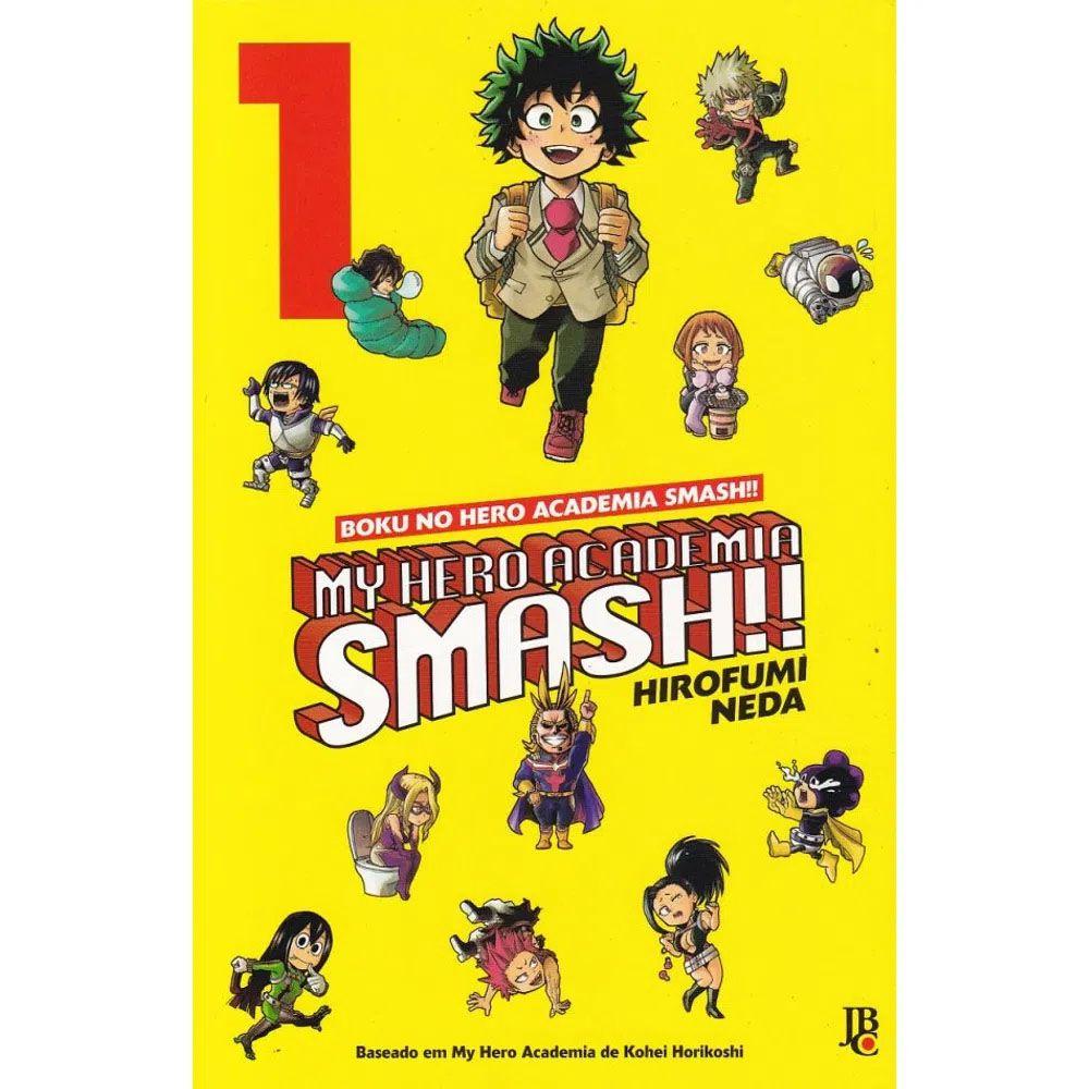 Boku No Hero Academia - My Hero Academia SMASH!! - Volume 01 - Usado