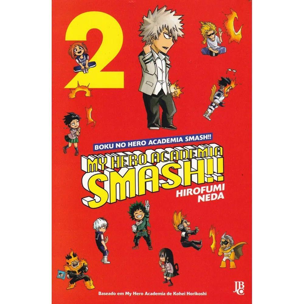 My Hero Academia SMASH!! / Boku No Hero Academia SMASH!! - Volume 02
