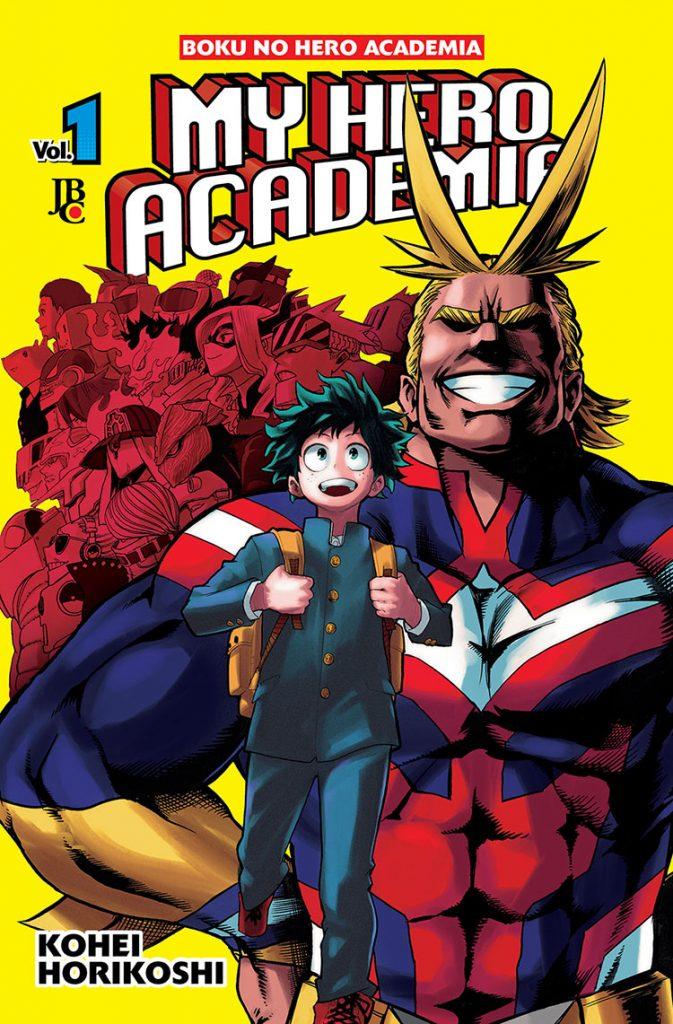My Hero Academia / Boku No Hero Academia - Volume 01 - Usado