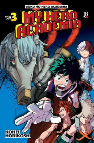 My Hero Academia / Boku No Hero Academia - Volume 03 - Usado