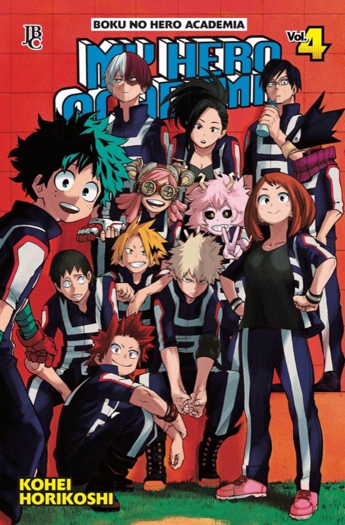 My Hero Academia / Boku No Hero Academia - Volume 04 - Usado