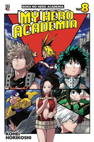 Boku No Hero Academia - My Hero Academia - Volume 08