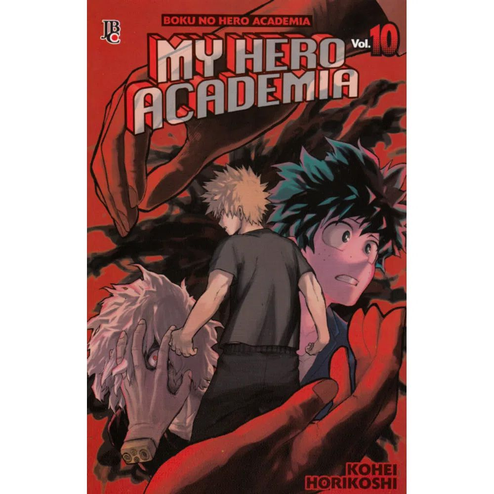 Boku No Hero Academia - My Hero Academia - Volume 10