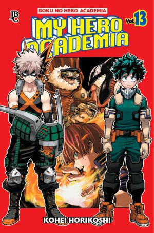 My Hero Academia / Boku No Hero Academia - Volume 13