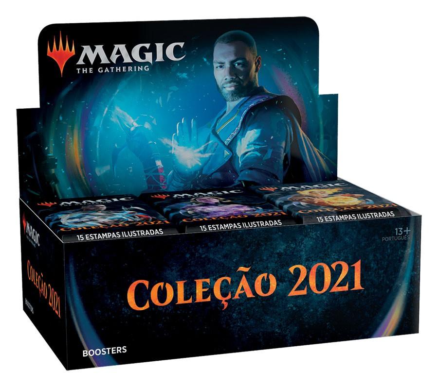 Booster Box - Coleção Básica 2021 / Core Set 2021