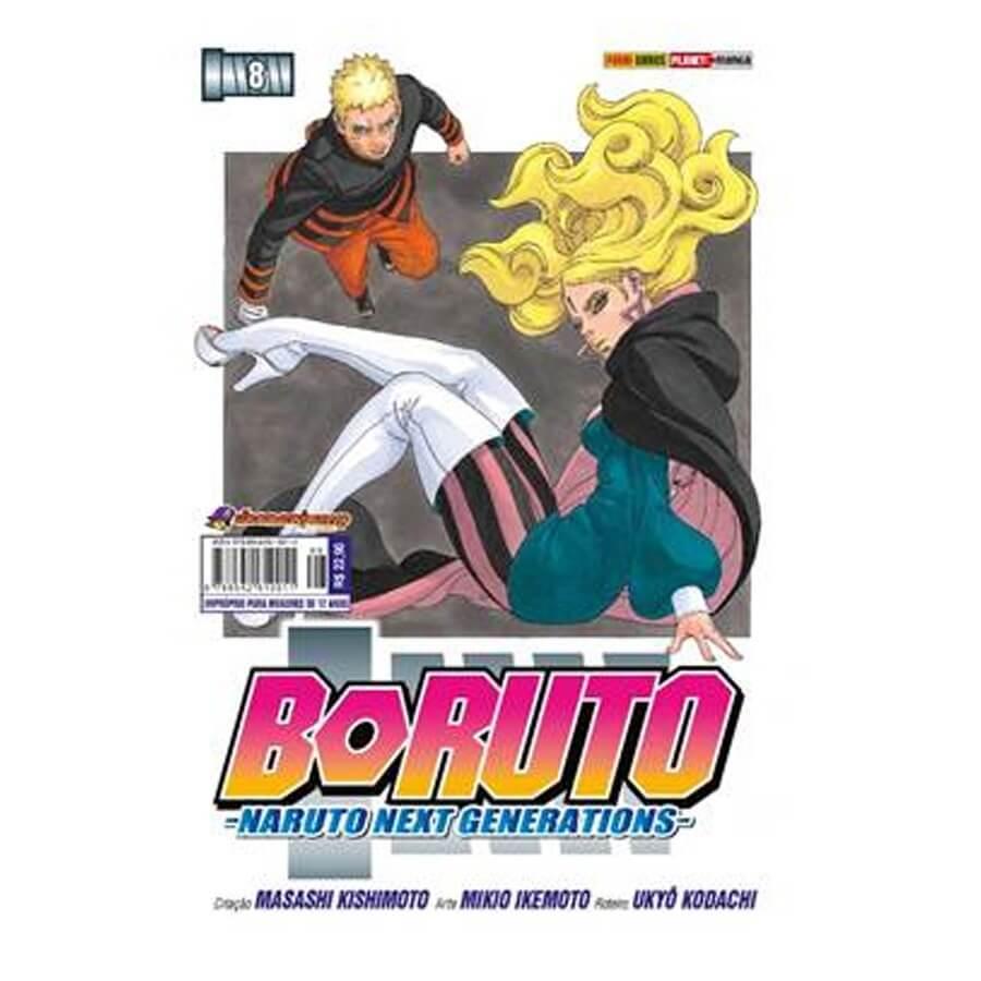 Boruto - Naruto Next Generations - Volume 08