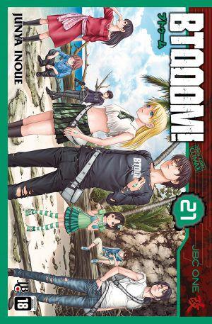 BTOOOM! - Volume 21 - Usado