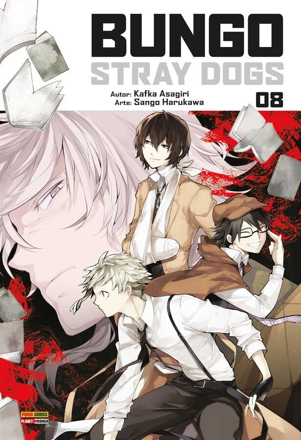 Bungo Stray Dogs - Volume 08