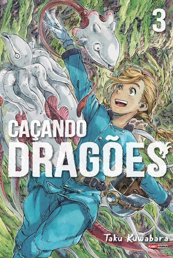 Caçando Dragões - Volume 03