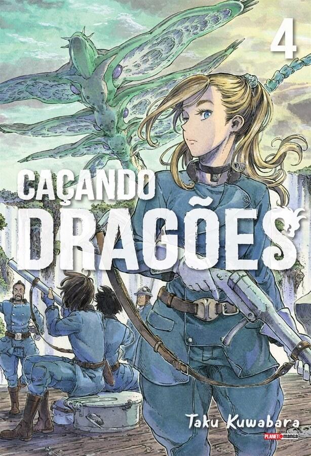 Caçando Dragões - Volume 04