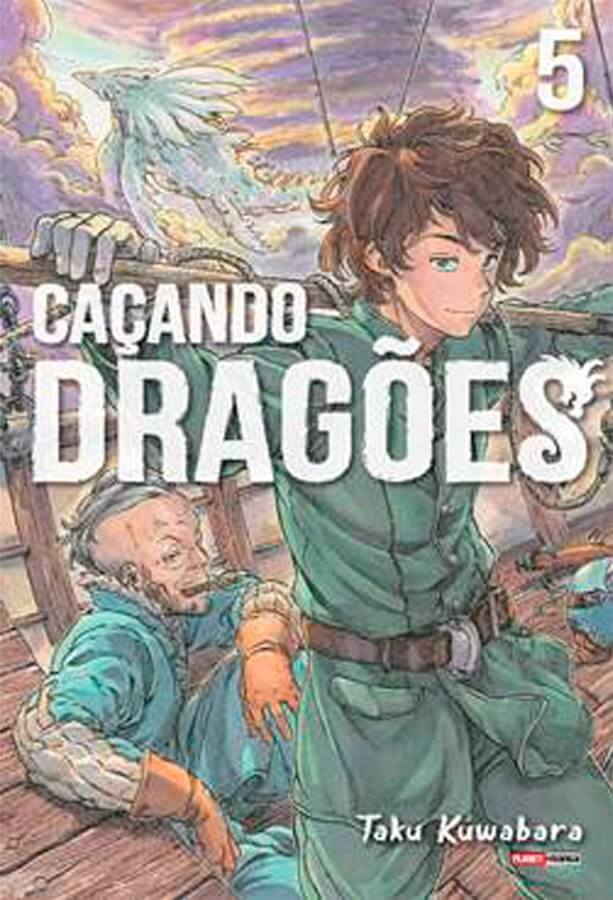 Caçando Dragões - Volume 05