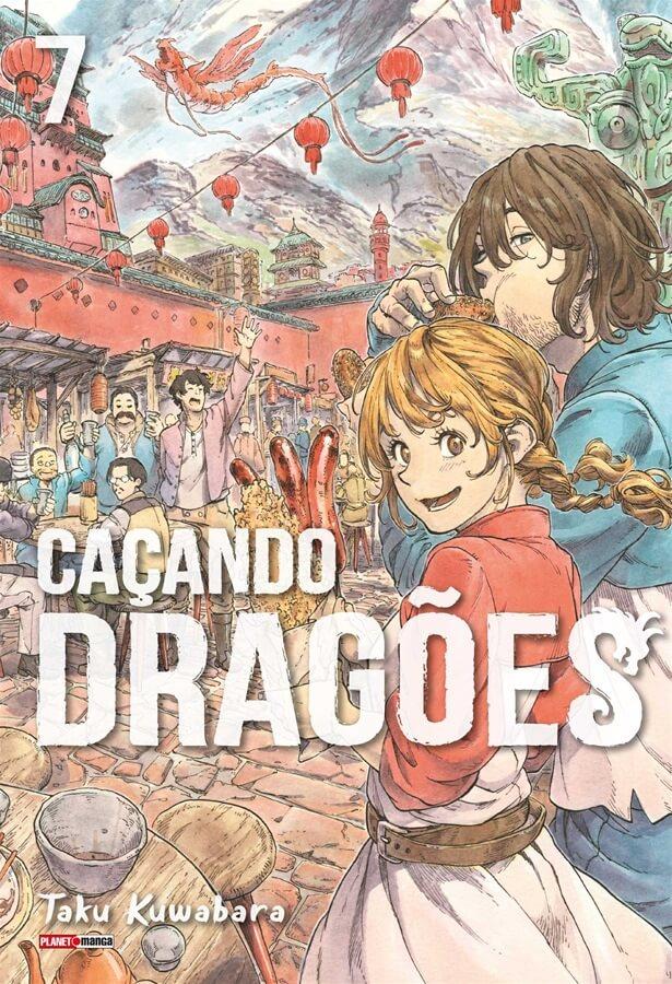Caçando Dragões - Volume 07