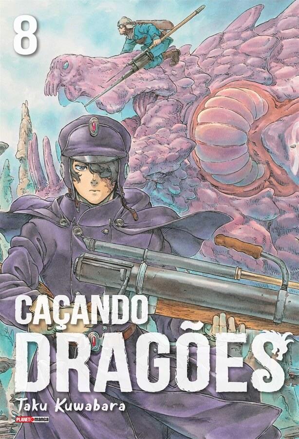 Caçando Dragões - Volume 08