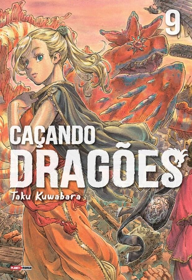 Caçando Dragões - Volume 09