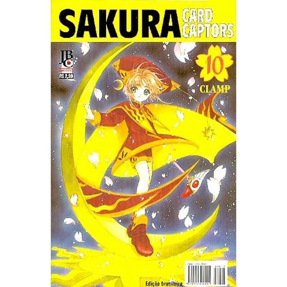 Sakura Card Captors / Cardcaptor Sakura - 1ª Edição - Volume 10 - Usado