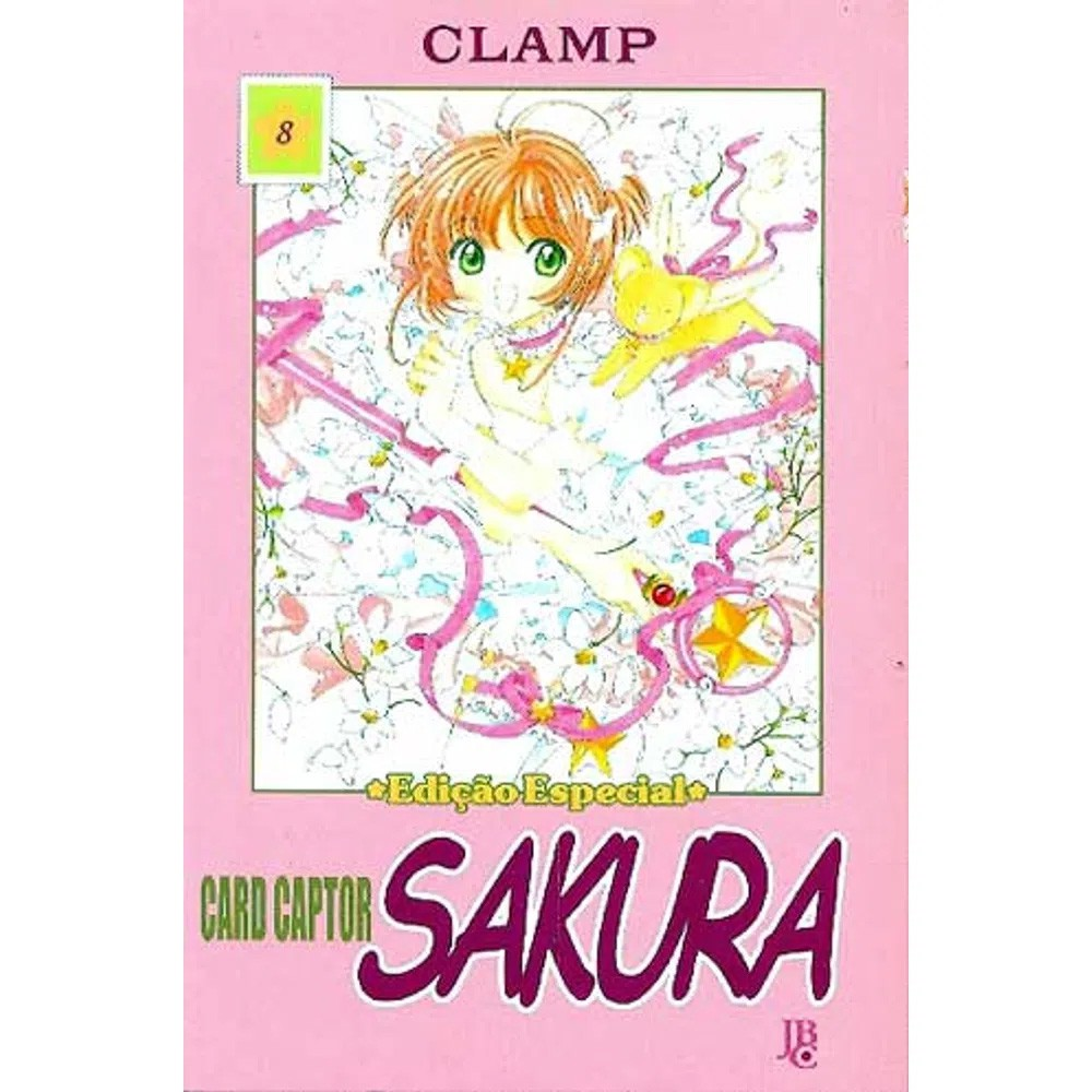 Sakura Card Captors / Cardcaptor Sakura - Volume 08
