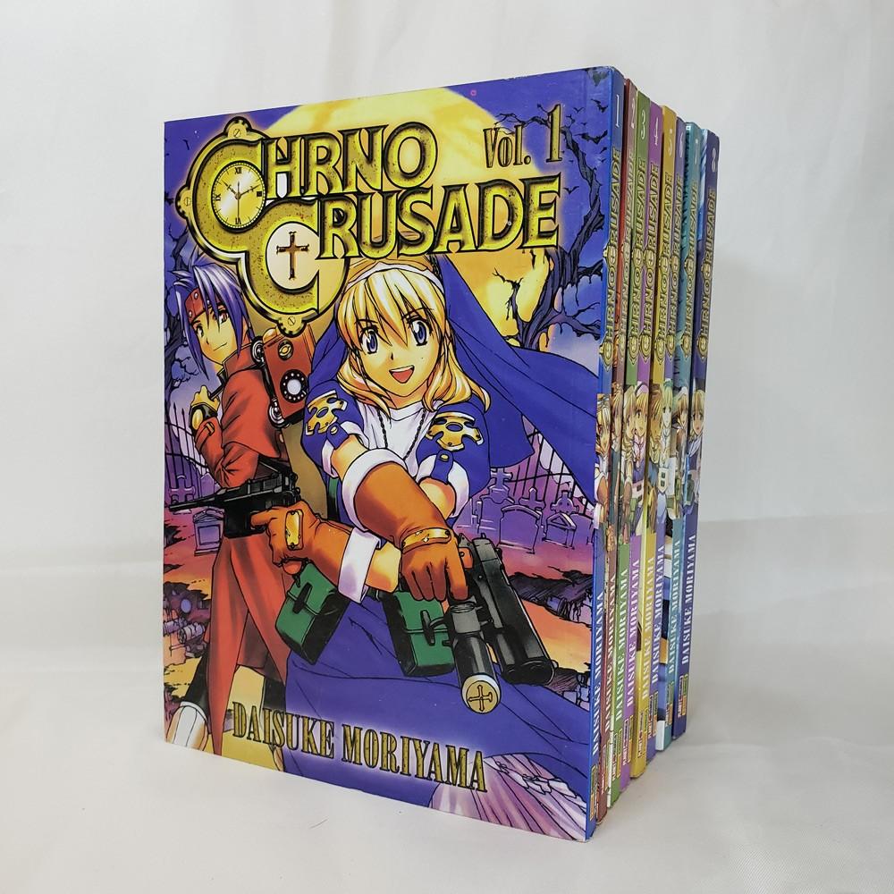 Chrno Crusade - 1 ao 8 - Coleção Completa - Pack