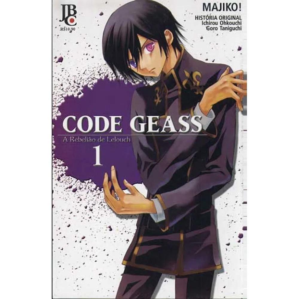 Code Geass - A Rebelião de Lelouch - Volume 01 - Usado