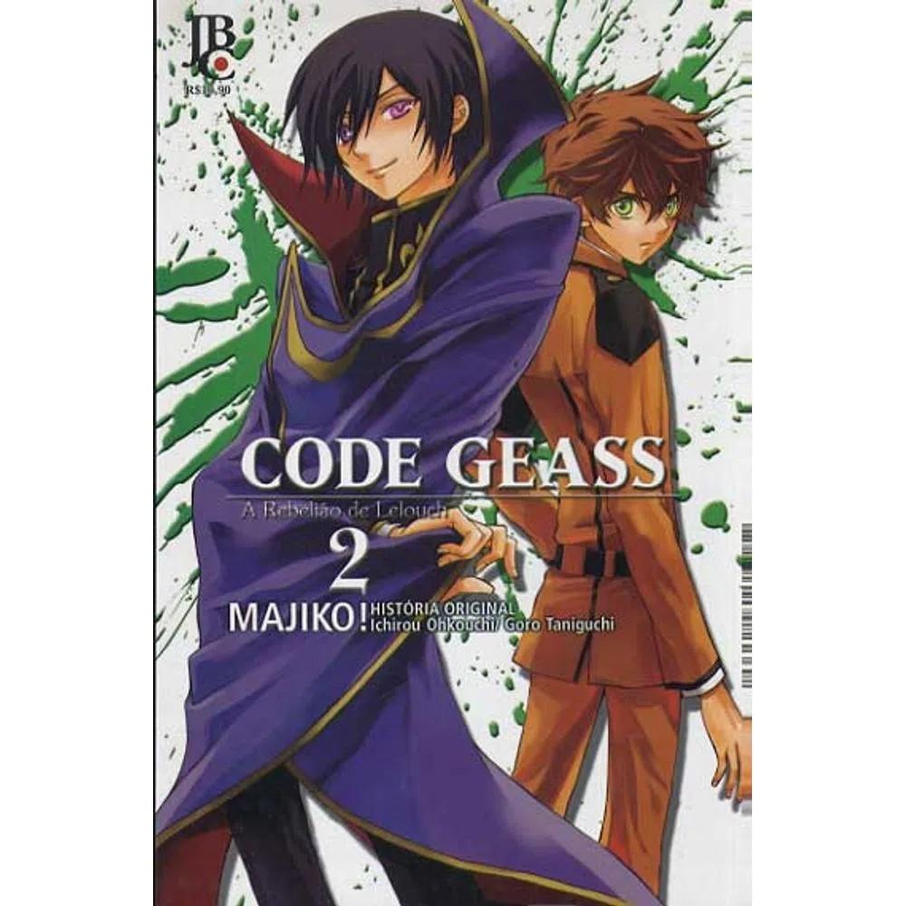 Code Geass - A Rebelião de Lelouch - Volume 02 - Usado