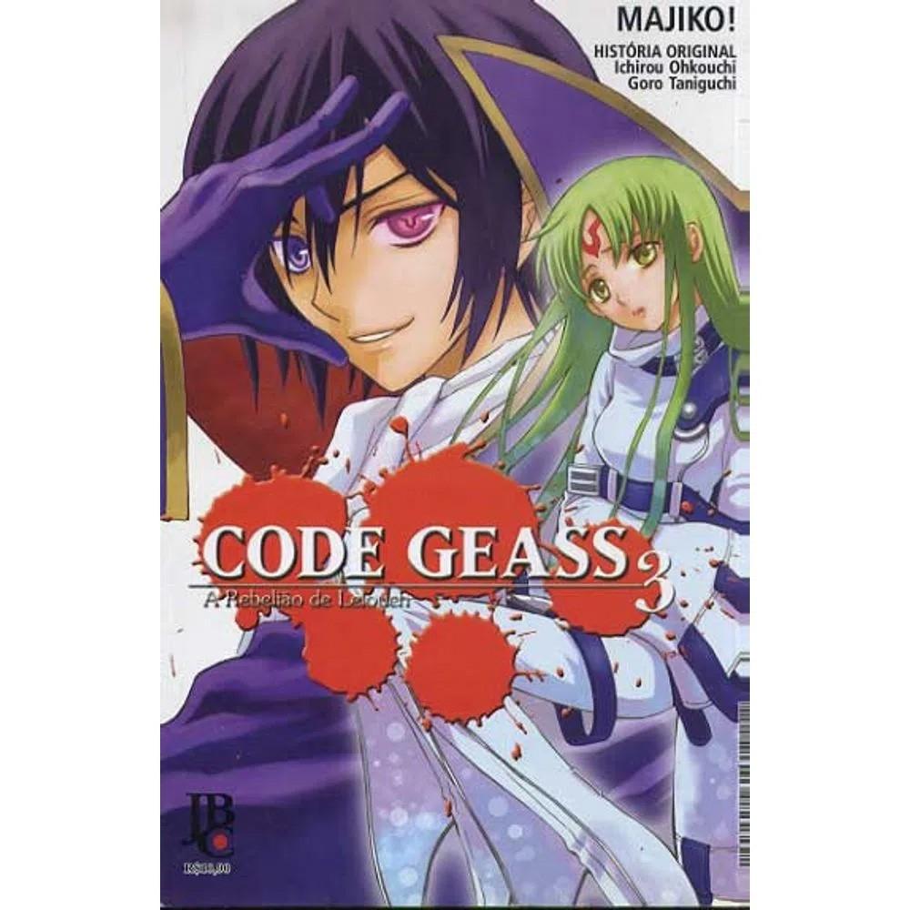 Code Geass - A Rebelião de Lelouch - Volume 03 - Usado