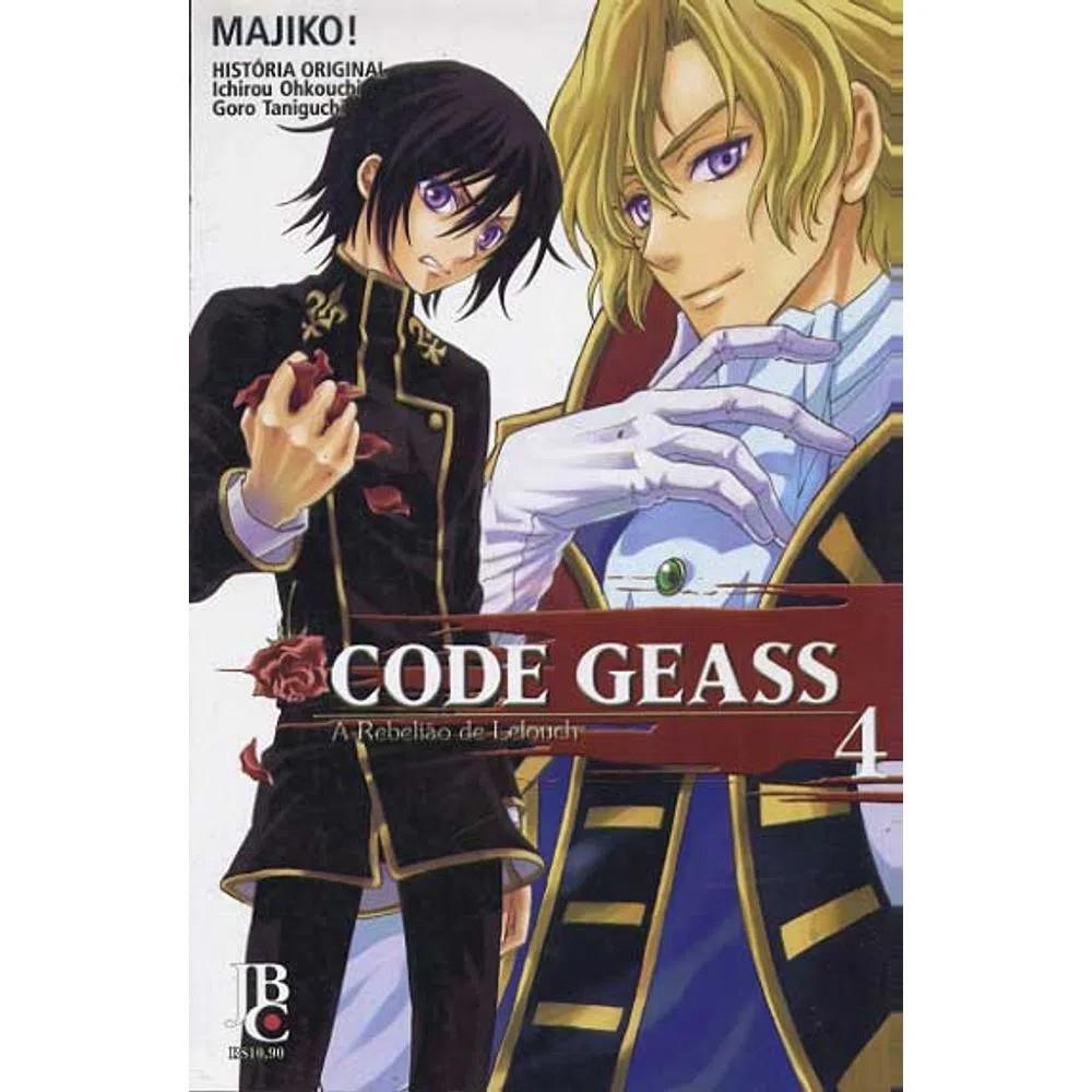Code Geass - A Rebelião de Lelouch - Volume 04 - Usado