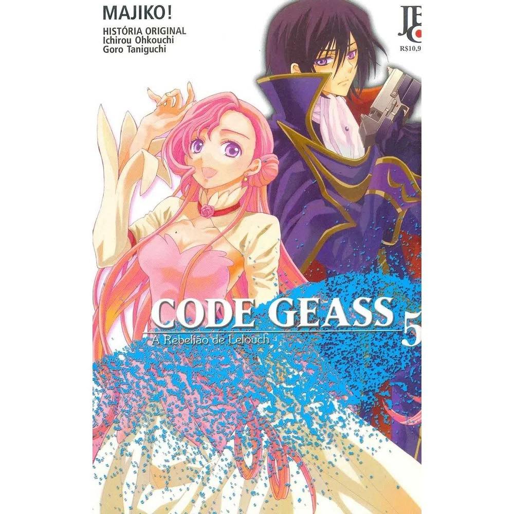 Code Geass - A Rebelião de Lelouch - Volume 05 - Usado