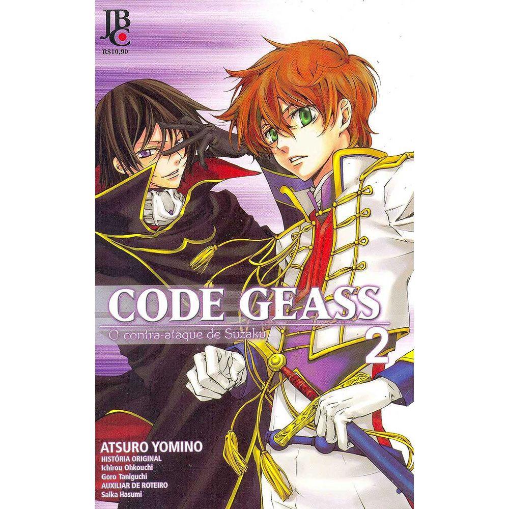 Code Geass - O Contra-Ataque de Suzaku - Volume 02 - Usado