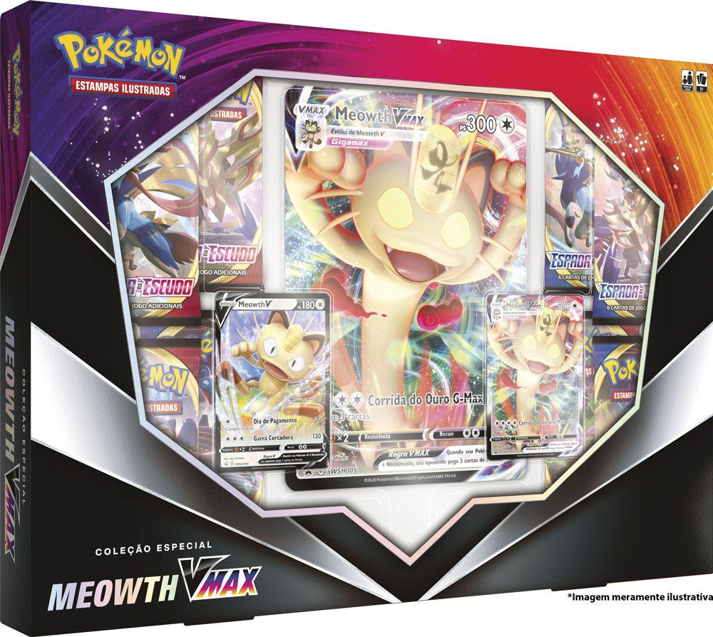 Coleção Especial Meowth VMax
