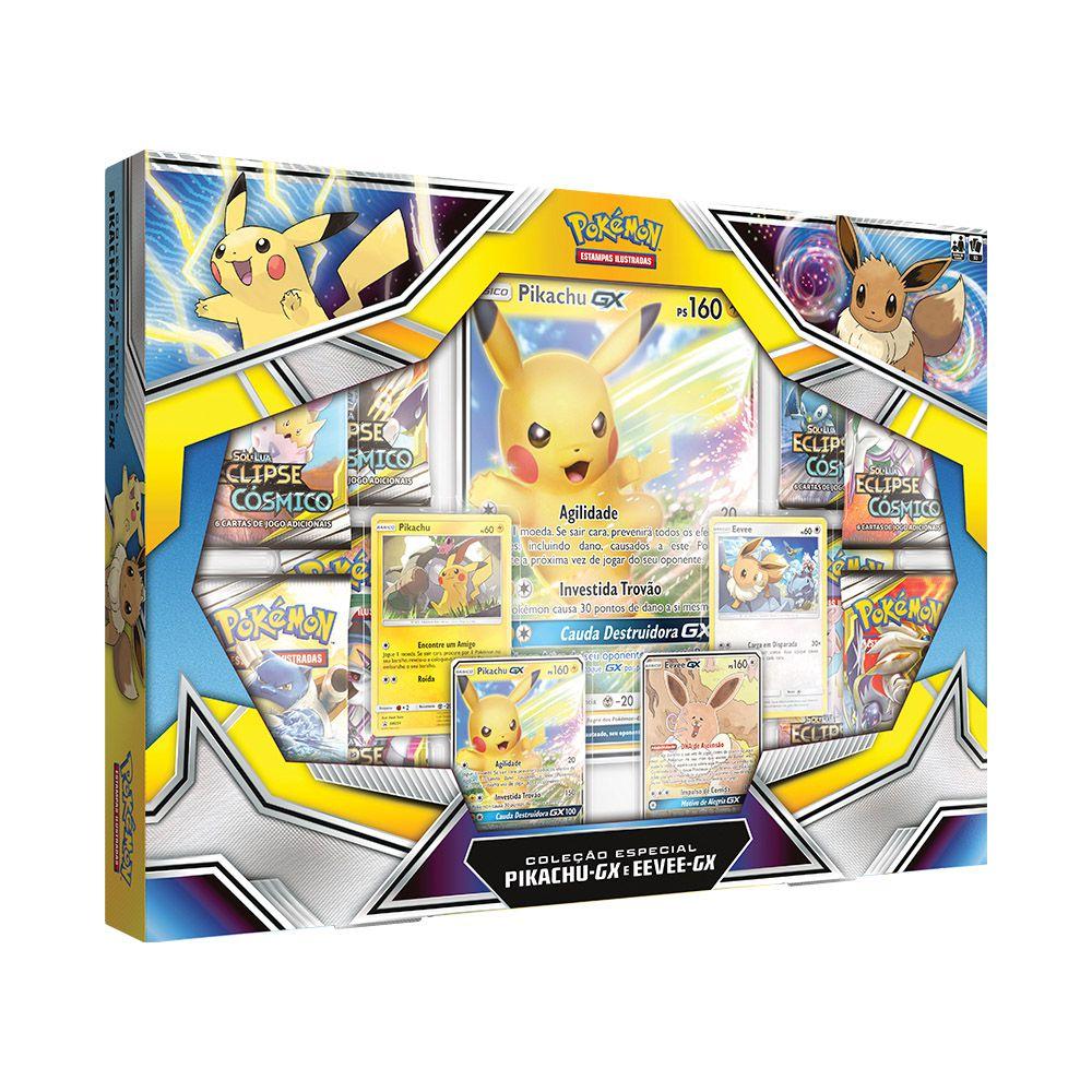 Coleção Especial Pikachu-GX e Eevee-GX