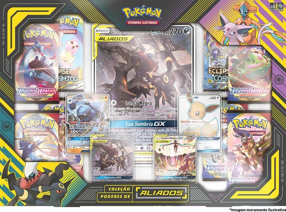 Coleção Poderes de Aliados - Umbreon e Darkrai-GX